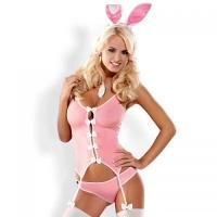"OB0502 Костюм ""Bunny suit"" S\M розовый"