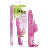 SMILE Вибратор многофункциональный Fancy Pearl розовый