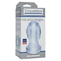 Анальная пробка Titanmen The Hollow Clear
