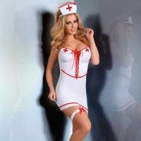 Игровой комплект медсестра Aspen, белый - L\XL