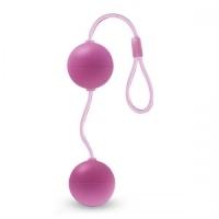 t330759 Шарики вагинальные, розовые, АБС пластик, 3cm