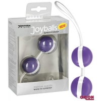 Joyballs Вагинальные шарики фиолетово-белые