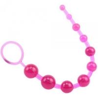 NC-0119 Ярко-розовая анальная цепочка.SASSY Anal Beads Pink