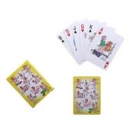 Карты игральные бумажные 54 шт. Парочка 63х88 мм арт. 551974