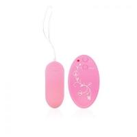 ВИБРОЯЙЦО на дистанционном управлении, цвет розовый, 10 режимов вибрации, L 79мм D 33мм арт. SF-70196-6