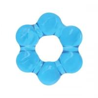 t280710 Эрекционное эластичное кольцо, голубое, ТЭП, 4.5cm