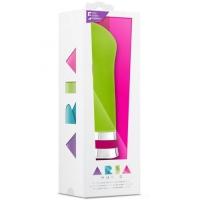 t330176 Вибратор для точки G, зеленый, силикон, 10 режимов, влагозащитный, 16.5cm * 3cm